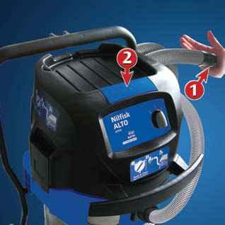 Push & CLEAN - systém čištění filtru