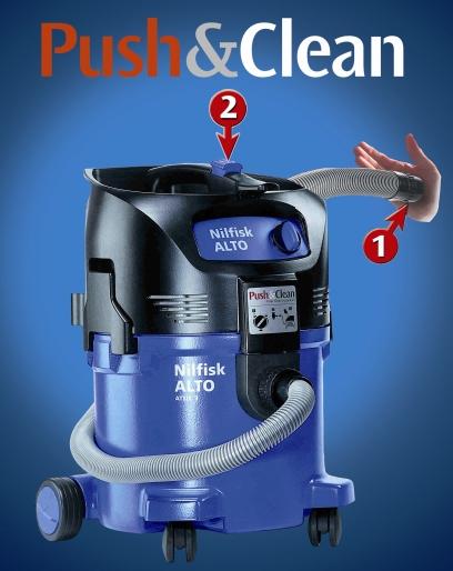 Systém PUSH & CLEAN