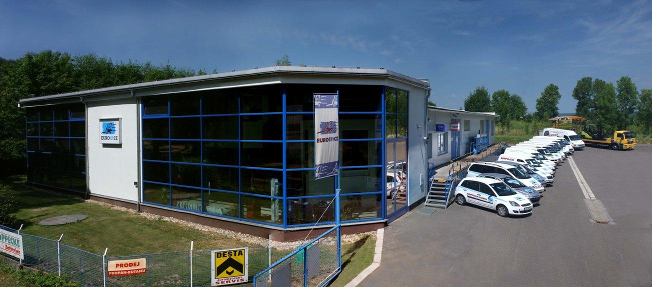Sídlo společnosti EUROliftCZ, s.r.o.