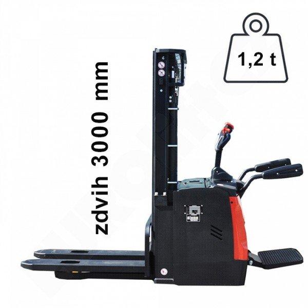 Vysokozdvižný ručně vedený vozík EUROliftCZ ES12RS