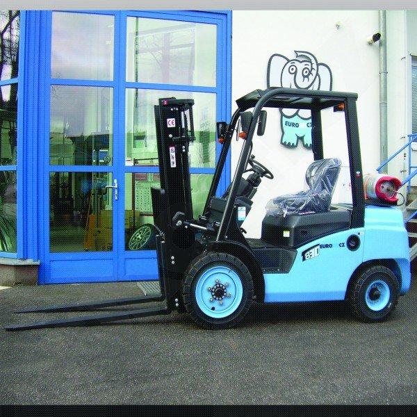 Čelní vysokozdvižné vozíky EUROLIFT CZ T8-30 BG - T8-35 BG