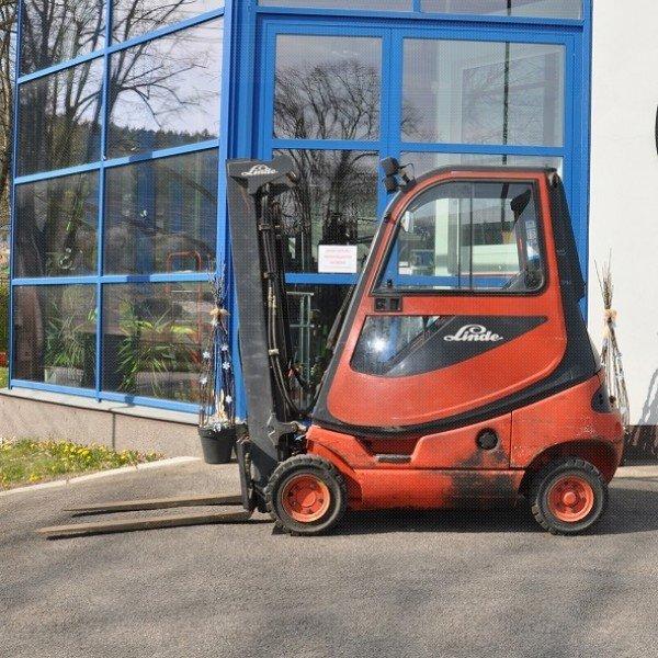 Použitý vysokozdvižný vozík dieselový LINDE H16D - dobrý stav