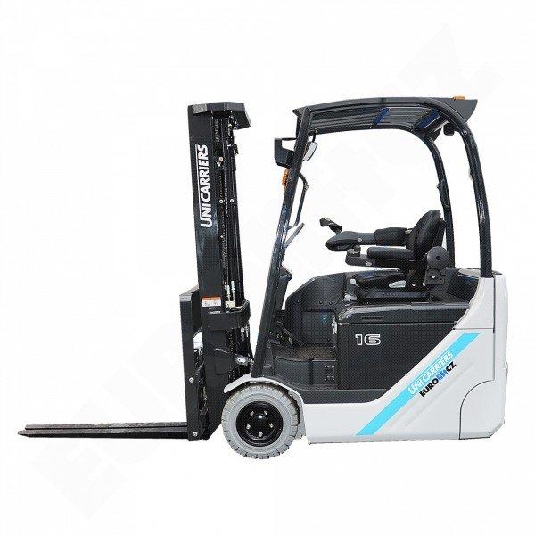 Čelní elektrický vysokozdvižný vozík UNICARRIERS - NISSAN TX 3-16 s bezvolantovým ovládáním