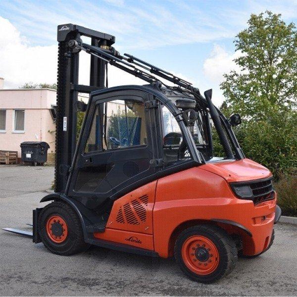 Použitý vysokozdvižný vozík dieselový Linde H50D - 01