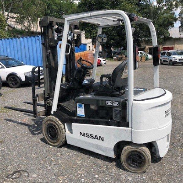 Použitý vysokozdvižný vozík elektrický Nissan 1Q2L25Q - dobrý stav po servisu