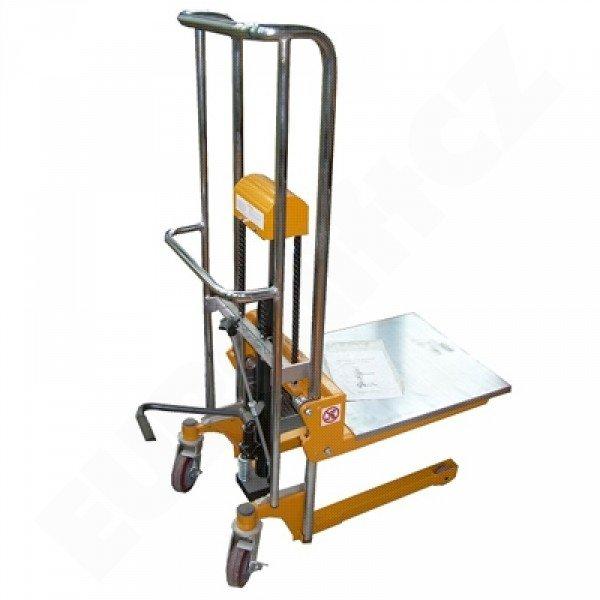 Vysokozdvižný ruční vozík s manuálním zdvihem EUROliftCZ PTF 40-15