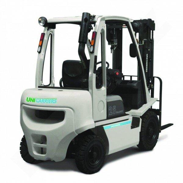 Čelní vysokozdvižné vozíky NISSAN DX 20-25 UNI CARRIERS-pohon diesel