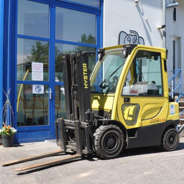 Použitý vysokozdvižný vozík dieselový HYSTER H2,5FT