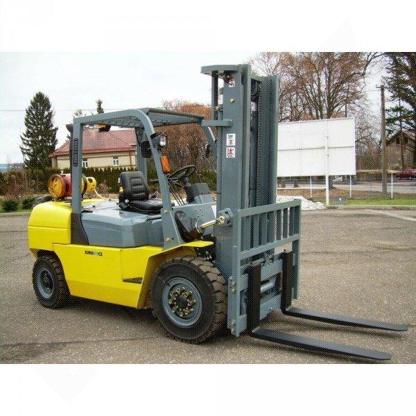 Vysokozdvižný vozík plynový EUROliftCZ B70-LPG