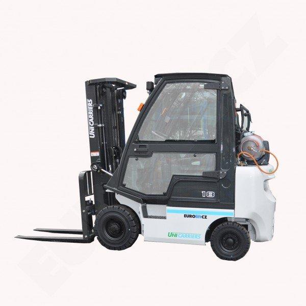 Čelní vysokozdvižný vozík UNICARRIERS - NISSAN DX 18 - pohon plyn