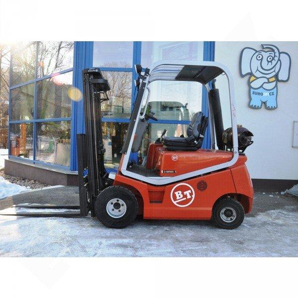 Použitý vysokozdvižný vozík plynový BT CBG15