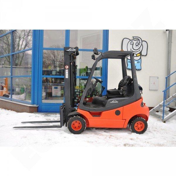 Použitý vysokozdvižný vozík plynový LINDE H20T