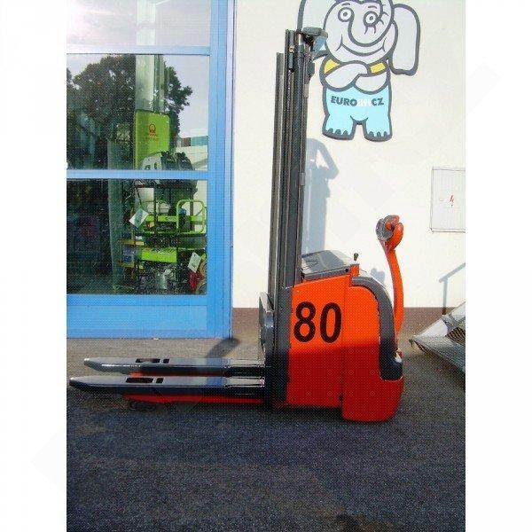 Použitý elektrický vysokozdvižný vozík Linde L 16