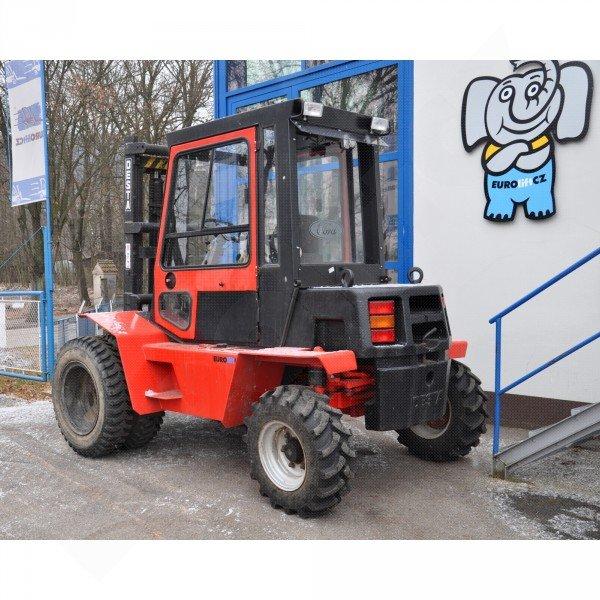 Použitý vysokozdvižný vozík dieselový terénní DESTA 3522 TXK