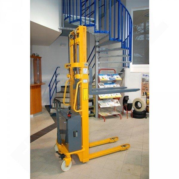 Vysokozdvižný ruční vozík s elektrickým zdvihem EUROliftCZ EMS-E1000 -2500