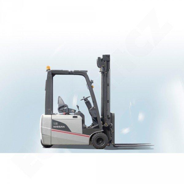 Čelní tříkolové vysokozdvižné vozíky NISSAN řady TX s elektropohonem