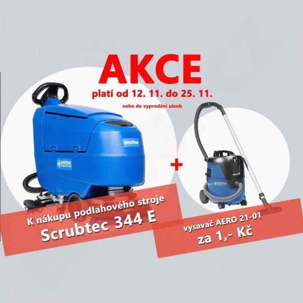 Podlahový mycí stroj SCRUBTEC 344 E