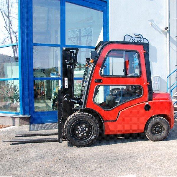 Čelní  vysokozdvižné vozíky EUROLIFT CZ T8-20 D - T8-25 D