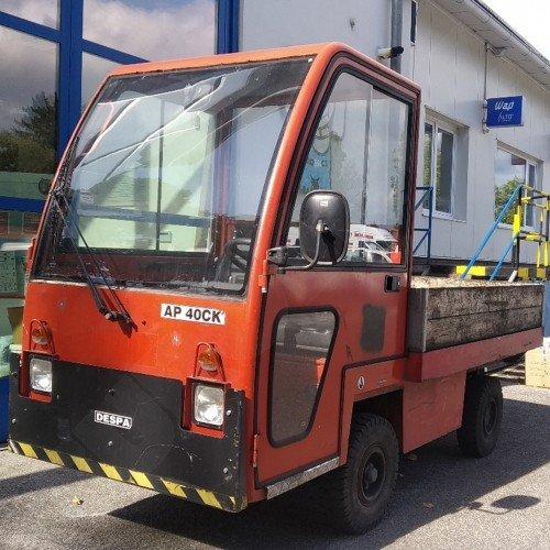 Použitý vozík plošinový DESPA AP 40 CK - dobrý stav, najeto pouze 800 motohodin!