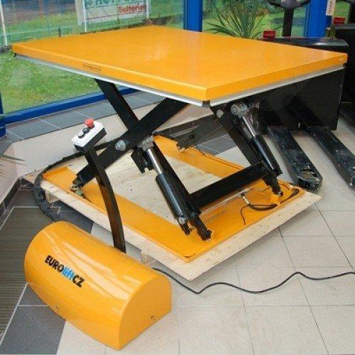 Stacionární zvedací stůl s elektrickým pohonem ETL 2002