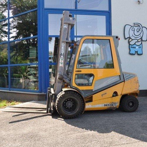 Použitý vysokozdvižný vozík dieselový Desta D35 K, stav dobrý, po servisu