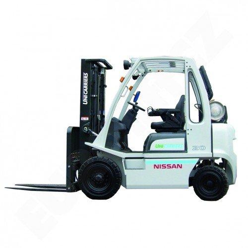 Čelní vysokozdvižné vozíky NISSAN DX 20-25 UNI CARRIERS-pohon LPG