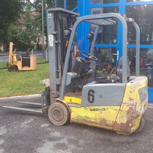Použitý vysokozdvižný vozík elektrický EUROLIFT CZ 3E15