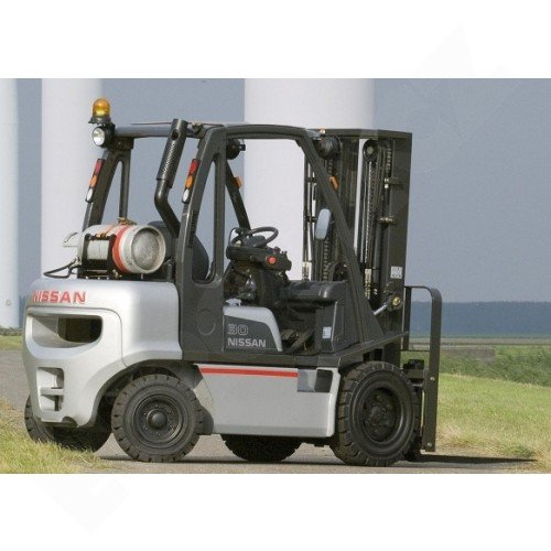 Čelní vysokozdvižné vozíky NISSAN řady DX s plynovým pohonem