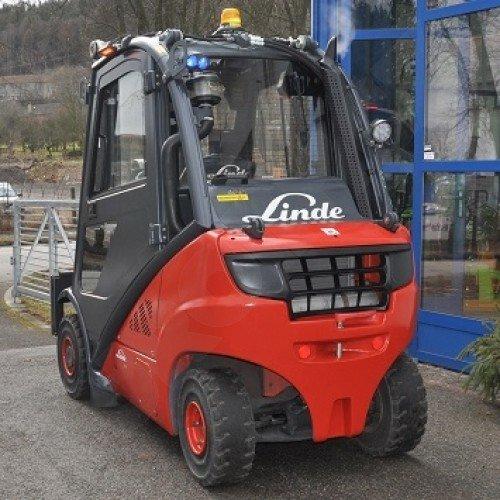 Použitý vysokozdvižný vozík dieselový Linde H 20 T - stav dobrý, po repasi