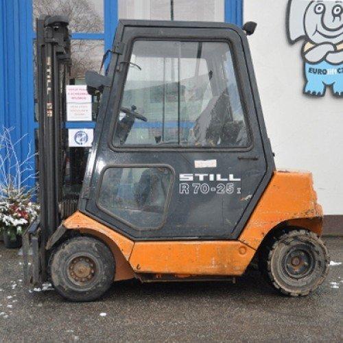 Čelní vysokozdvižný použitý vozík Still R70-25