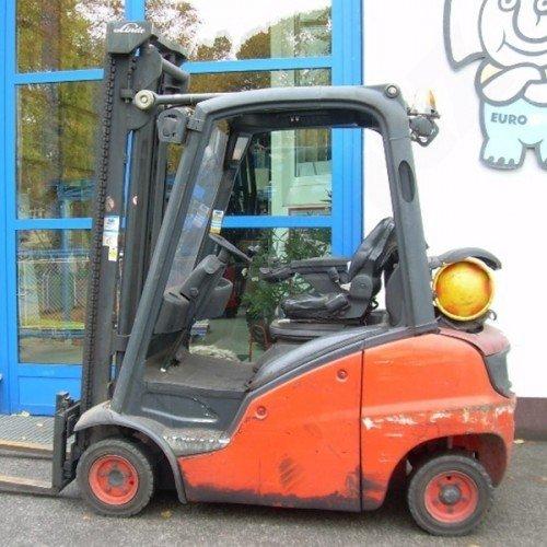 Použitý vysokozdvižný vozík plynový LINDE H16T