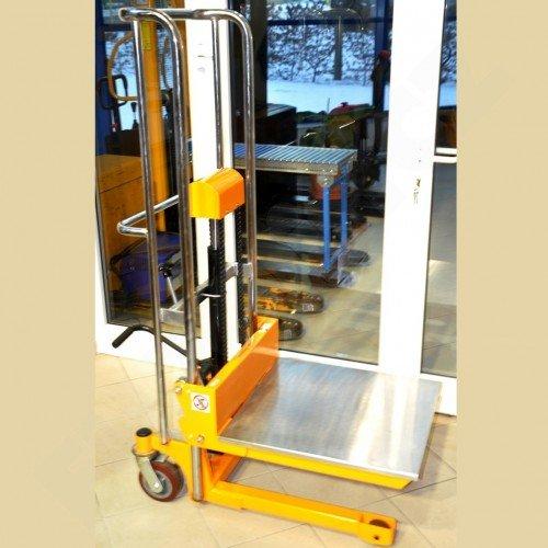 Vysokozdvižný ruční vozík s manuálním zdvihem EUROliftCZ PTF 40-13