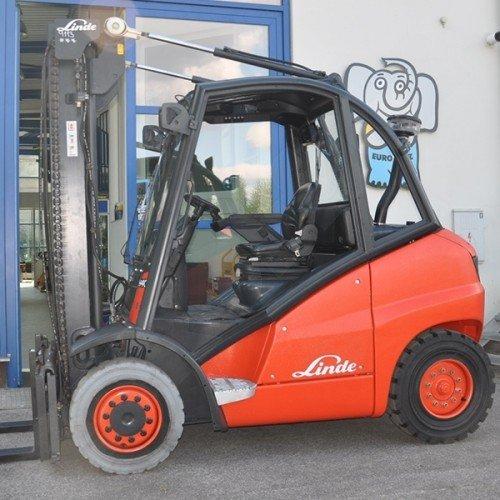 Použitý vysokozdvižný vozík dieselový LINDE H40D