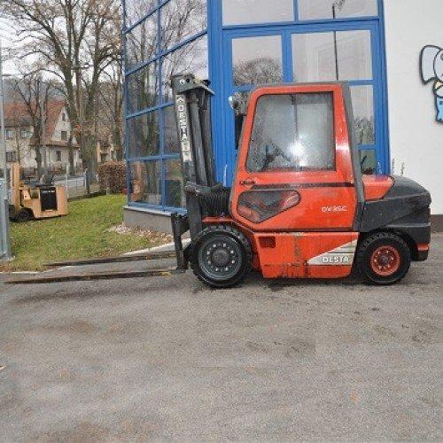 Použitý vysokozdvižný vozík dieselový Desta DV 35 C