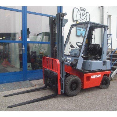 Použitý vysokozdvižný vozík dieselový NISSAN EH 01 A15.U