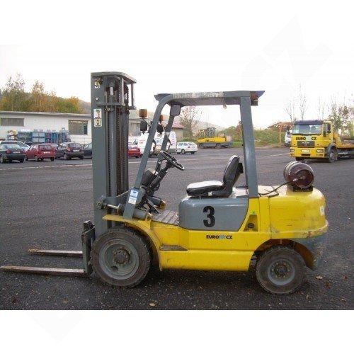 Použitý zánovní vysokozdvižný vozík plynový EUROliftCZ BG35