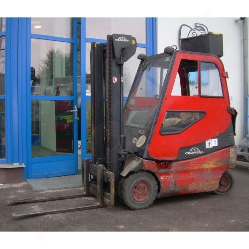 Použitý vysokozdvižný vozík elektrický LINDE E20