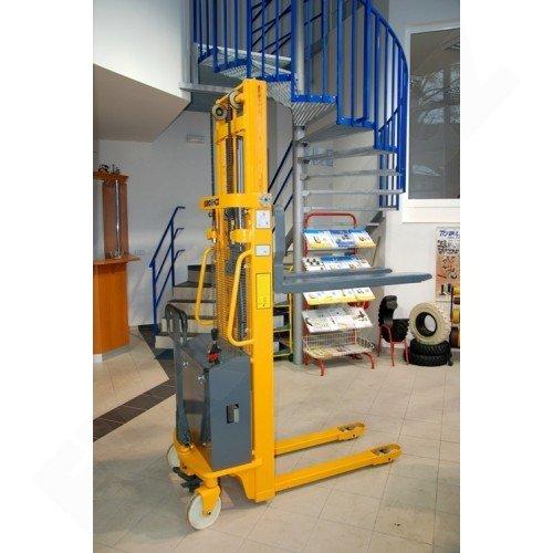 Vysokozdvižný ruční vozík s elektrickým zdvihem EUROliftCZ EMS-E1000 -3300
