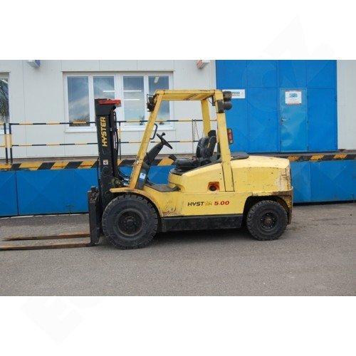 Použitý vysokozdvižný vozík dieselový HYSTER H 5.00 XM