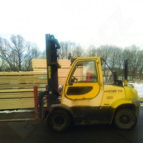 Použitý vysokozdvižný vozík dieselový HYSTER H 7.0FT, dobrý stav