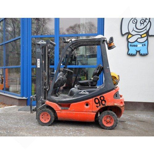 Použitý vysokozdvižný vozík plynový LINDE H16T-03