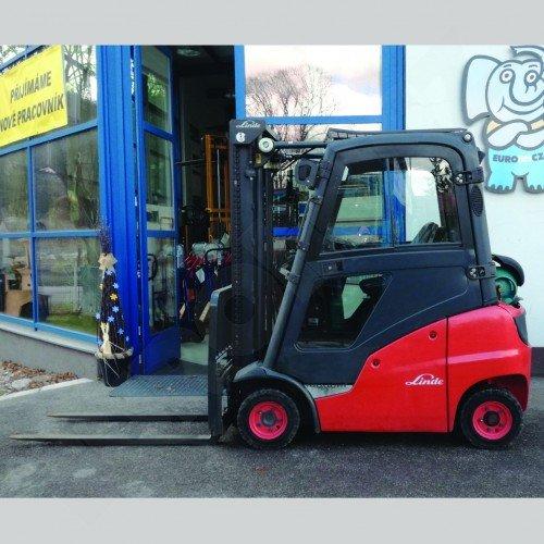 Použitý vysokozdvižný vozík plynový LINDE H16 T - výborný stav
