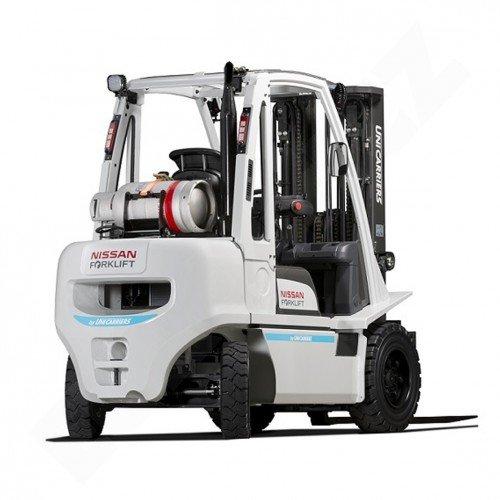 Čelní vysokozdvižné vozíky NISSAN DX 15-18 UNI CARRIERS-pohon LPG
