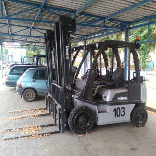 Použitý vysokozdvižný vozík dieselový NISSAN DX20