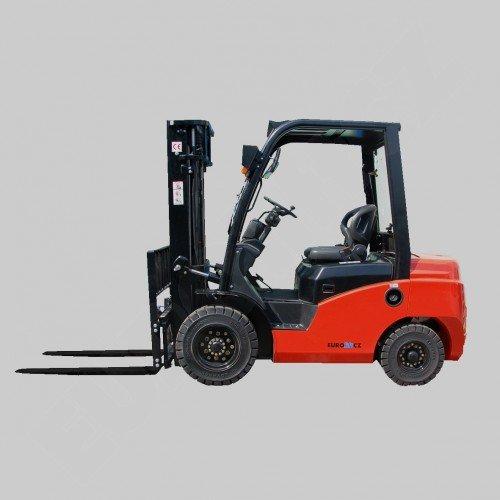 Čelní vysokozdvižné vozíky EUROLIFT CZ T8-15 D - T8-18 D