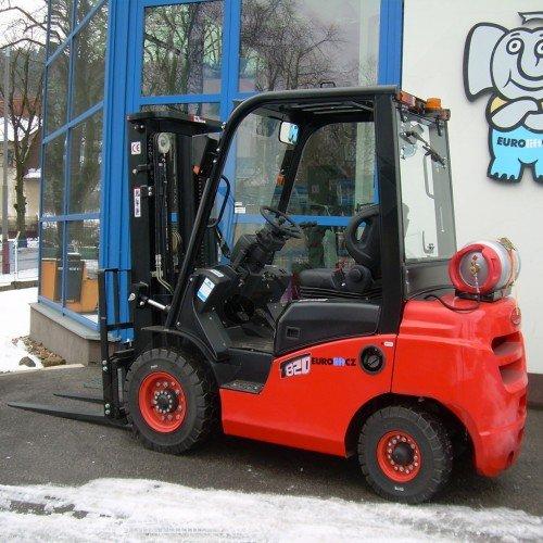 Čelní vysokozdvižné vozíky EUROLIFT CZ T8-20 BG - T8-25 BG