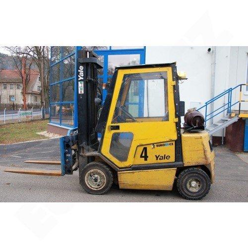 Použitý vysokozdvižný vozík plynový YALE GLP 25TF
